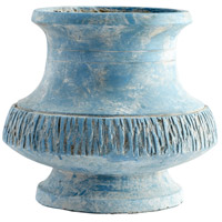 Marina Bay Antique Blue Planter, Large