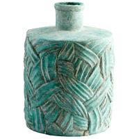 Cyan Design 09622 Chenille Antique Green Vase Large