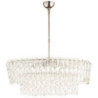 Cannoli 8 Light 21 inch Polished Nickel Chandelier Ceiling Light