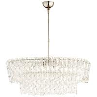 Cyan Design 09667 Cannoli 8 Light 21 inch Polished Nickel Chandelier Ceiling Light