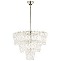 Cyan Design 09668 Cannoli 10 Light 27 inch Polished Nickel Pendant Ceiling Light