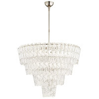 Cyan Design 09669 Cannoli 15 Light 34 inch Polished Nickel Chandelier Ceiling Light