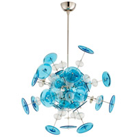Cyan Design 09679 Avi 10 Light 25 inch Polished Nickel Pendant Ceiling Light