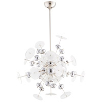 Cyan Design 09681 Avi 10 Light 25 inch Polished Nickel Pendant Ceiling Light