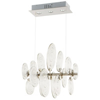 Discus 3 Light 24 inch Polished Nickel Pendant Ceiling Light