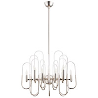 Champ-Elysees 12 Light 26 inch Polished Nickel Chandelier Ceiling Light