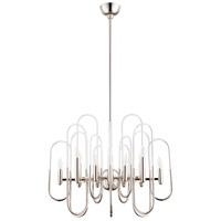 Cyan Design 09687 Champ-elysees 12 Light 26 inch Polished Nickel Chandelier Ceiling Light