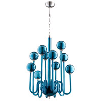 Marilyn 10 Light 23 inch Polished Nickel Chandelier Ceiling Light
