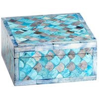 Cyan Design 09794 Piceo Turquoise Container, Large