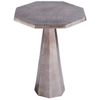 Armon 25 X 21 inch Textured Bronze Side Table
