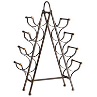 Riesling Tower Bronze Wine Rack