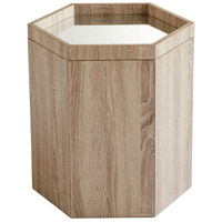 Honeycomb 20 X 18 inch Oak Veneer Tray Table, Large