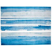 Cyan Design 09895 Azure Watercolor 144 X 108 inch Multi Colored Blue Rug, 9ft x12ft