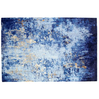 Cyan Design 09917 Still Waters 108 X 72 inch Multi Colored Blue Rug, 6ft x 9ft