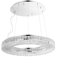 Cyan Design 09938 Kallick 10 Light 30 inch Polished Nickel Pendant Ceiling Light