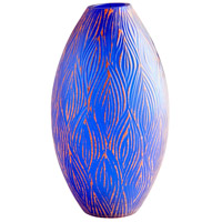 Fused Groove 10 inch Vase, Small