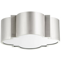 Wyatt 2 Light 16 inch Satin Nickel Flush Mount Ceiling Light