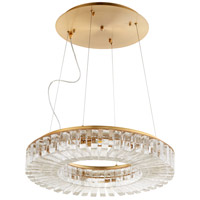 Cyan Design 10068 Kallick 8 Light 24 inch Aged Brass Pendant Ceiling Light