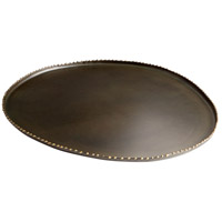 Rochester Antique Black Tray, Small