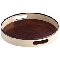 Marriot Beige and Brown Tray, Small