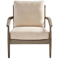 Cyan Design 10229 Astoria Weathered Oak and Tan Accent Chair