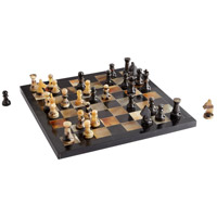 Cyan Design 10230 Checkmate Horn Chess Board