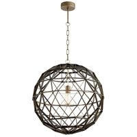 Cyan Design 10271 Barton 1 Light 23 inch Noir Pendant Ceiling Light