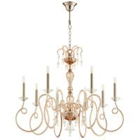 Cyan Design 10368 Spectre 8 Light 39 inch Satin Nickel Chandelier Ceiling Light
