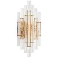 Cyan Design 10369 Niemeyer 2 Light 9 inch Aged Brass Wall Sconce Wall Light