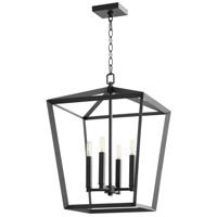 Cyan Design 10375 Hyperion 4 Light 17 inch Noir Chandelier Ceiling Light