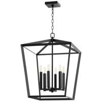 Cyan Design 10376 Hyperion 6 Light 19 inch Noir Chandelier Ceiling Light