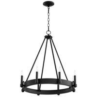 Cyan Design 10383 Laramie 8 Light 24 inch Noir Chandelier Ceiling Light