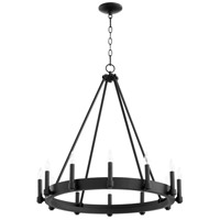 Cyan Design 10384 Laramie 12 Light 28 inch Noir Chandelier Ceiling Light
