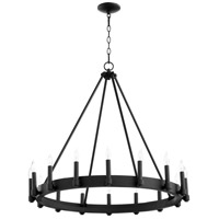 Cyan Design 10385 Laramie 16 Light 32 inch Noir Chandelier Ceiling Light