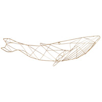 Cyan Design 10389 Whale Of A 26 X 11 inch Metal Wall Art