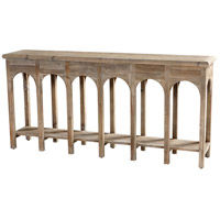 Cyan Design 10504 Sardinia 70 X 14 inch Weathered Pine Console Table