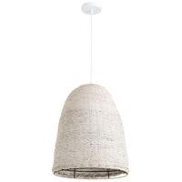 Cyan Design 10510 Dedal 1 Light 17 inch White Pendant Ceiling Light