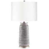 Cyan Design 10544 Bilbao 31 inch 100 watt Satin Nickel Table Lamp Portable Light
