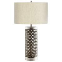 Cyan Design 10547 Fiore 29 inch 100 watt Satin Nickel Table Lamp Portable Light