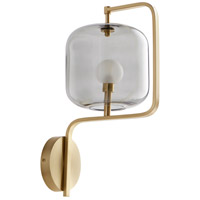 Cyan Design 10551 Isotope 1 Light Aged Brass Wall Sconce Wall Light