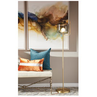 Cyan Design 10554 Isotope 62 inch 7.00 watt Aged Brass Floor Lamp Portable Light