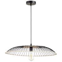 Cyan Design 10794 Parasol 1 Light 24 inch Matte Black Pendant Ceiling Light