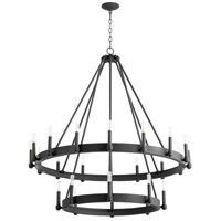 Cyan Design 10871 Laramie 24 Light 41 inch Noir Chandelier Ceiling Light