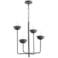 Cyan Design 10975 Enoki 4 Light 21 inch Noir Chandelier Ceiling Light