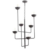 Cyan Design 10976 Enoki 6 Light 23 inch Noir Chandelier Ceiling Light