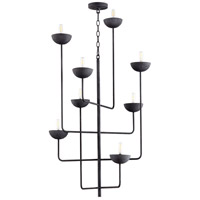 Cyan Design 10977 Enoki 8 Light 27 inch Noir Chandelier Ceiling Light