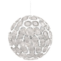 Dandelion 10 Light 29 inch Chrome Pendant Ceiling Light