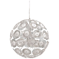 Cyan Design 6361-6-14 Dandelion 6 Light 20 inch Chrome Pendant Ceiling Light