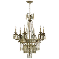 Buckingham 6 Light 31 inch St Regis Bronze Chandelier Ceiling Light