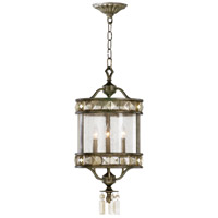 Buckingham 3 Light 12 inch St Regis Bronze Foyer Pendant Ceiling Light